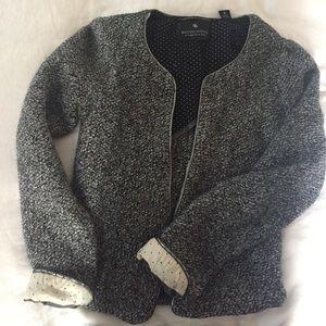 Maison Scotch Knitted Blazer